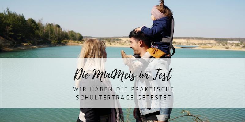 Schultertrage im Test: Mit der MiniMeis hoch hinaus!