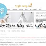 Top Mama Blog 2020: 1. Platz